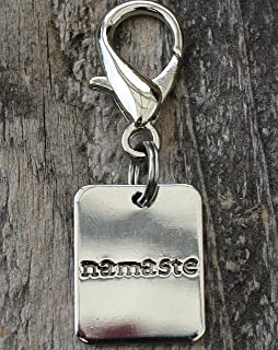 product image for Diva-Dog - Dog Tag Style Dog Collar Charm or Keychain (Silver)