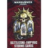 Data Cards: Battlezone Empyric Storm Cards Games Workshop ( 40-09-60 )
