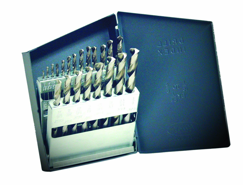 Champion Werkzeug 120C 705Allgemeine Zwecke HSS 61–80Wire Gauge Micro Bohrer-Set, 20 Champion Cutting Tool 120C
