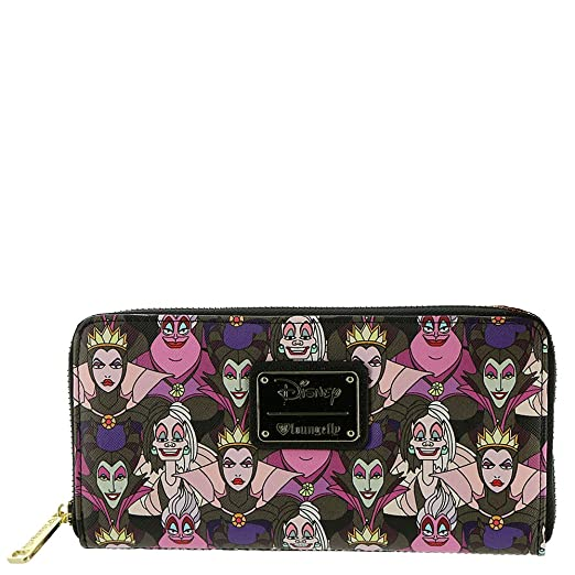 Loungefly x Disney Villains Print Wallet at Amazon Men s Clothing store  64dc11d4884