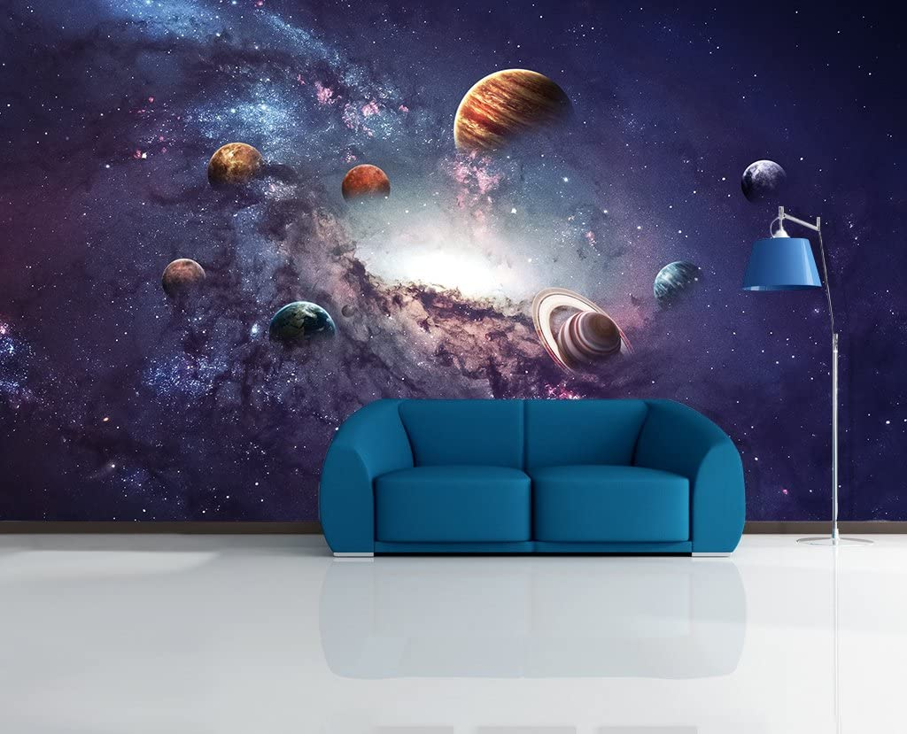 Details about  /3D Colorful Rings 50 Wall Paper Wall Print Decal Wall Deco Indoor AJ Wall Paper