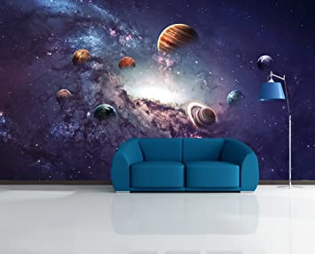 3D Universe Planet 53 Wall Paper Print Decal Deco Indoor Murals Removable