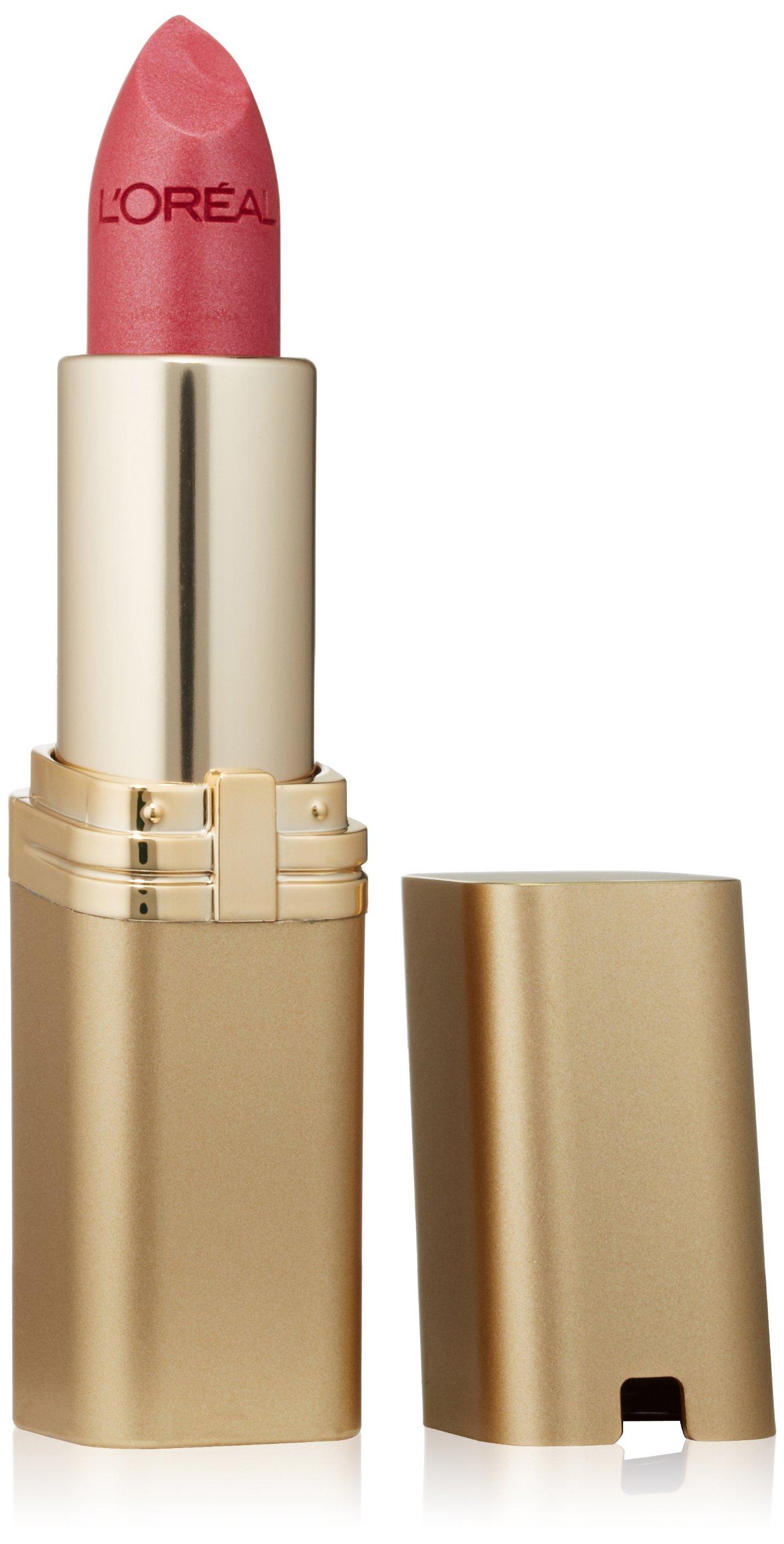 L'Oréal Paris Colour Riche Lipstick, Peony Pink, 0.13 oz.