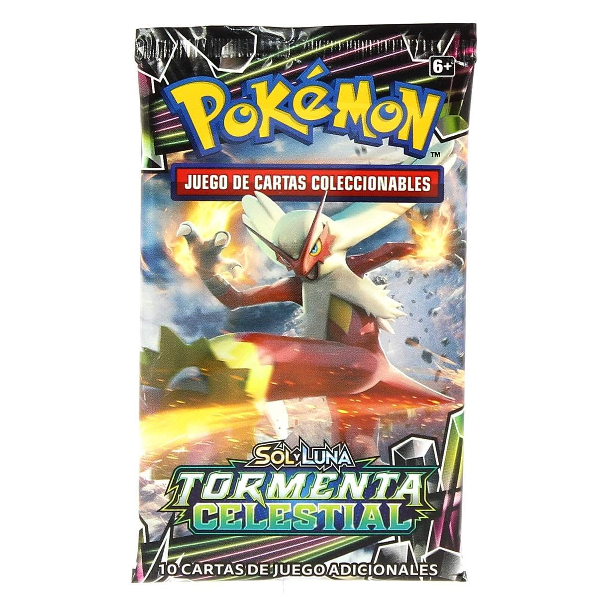 Pokemon JCC Tormenta Celestial sobre 10 Cartas - Español ...