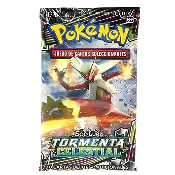 Pokemon JCC- Tormenta Celestial sobre 10 Cartas - Español ...