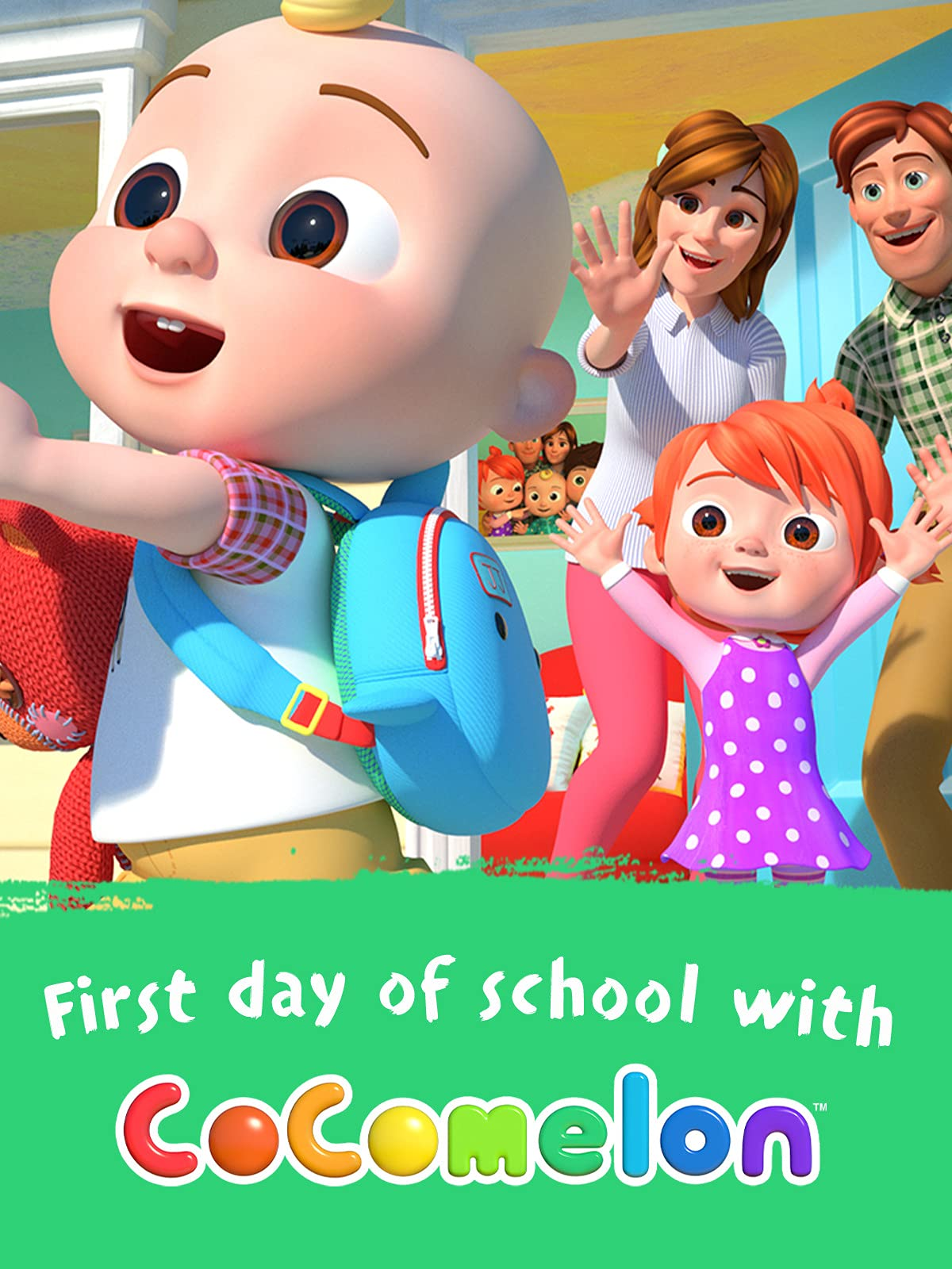 First Day of School with Cocomelon on Amazon Prime Video UK