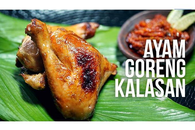 Amazon Com Ayam Goreng Kalasan Ready To Eat Pack Of 1 Grocery Gourmet Food