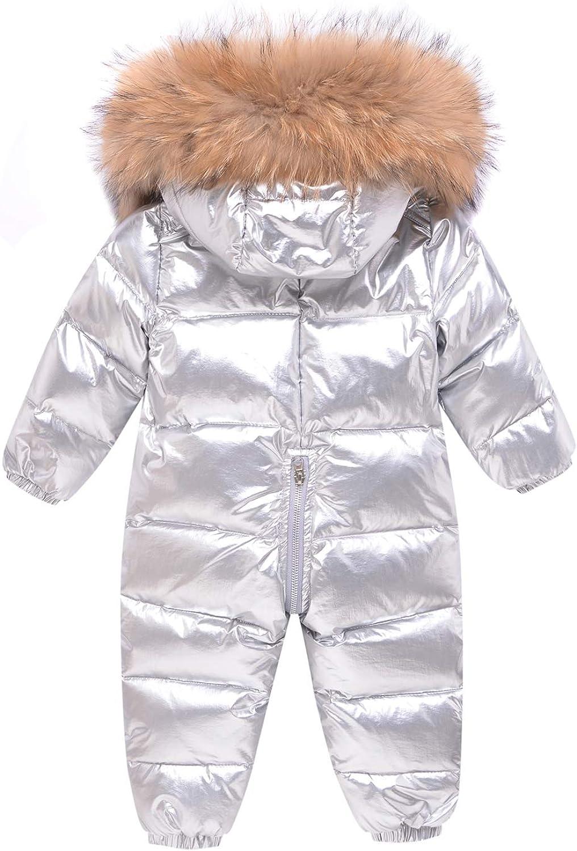 B/éb/é Hiver Combinaison de Coton Barboteuses /à Capuche Jumpsuit Pyjama Manches Longues Body Manteau dhiver Outwear 3-18 Mois