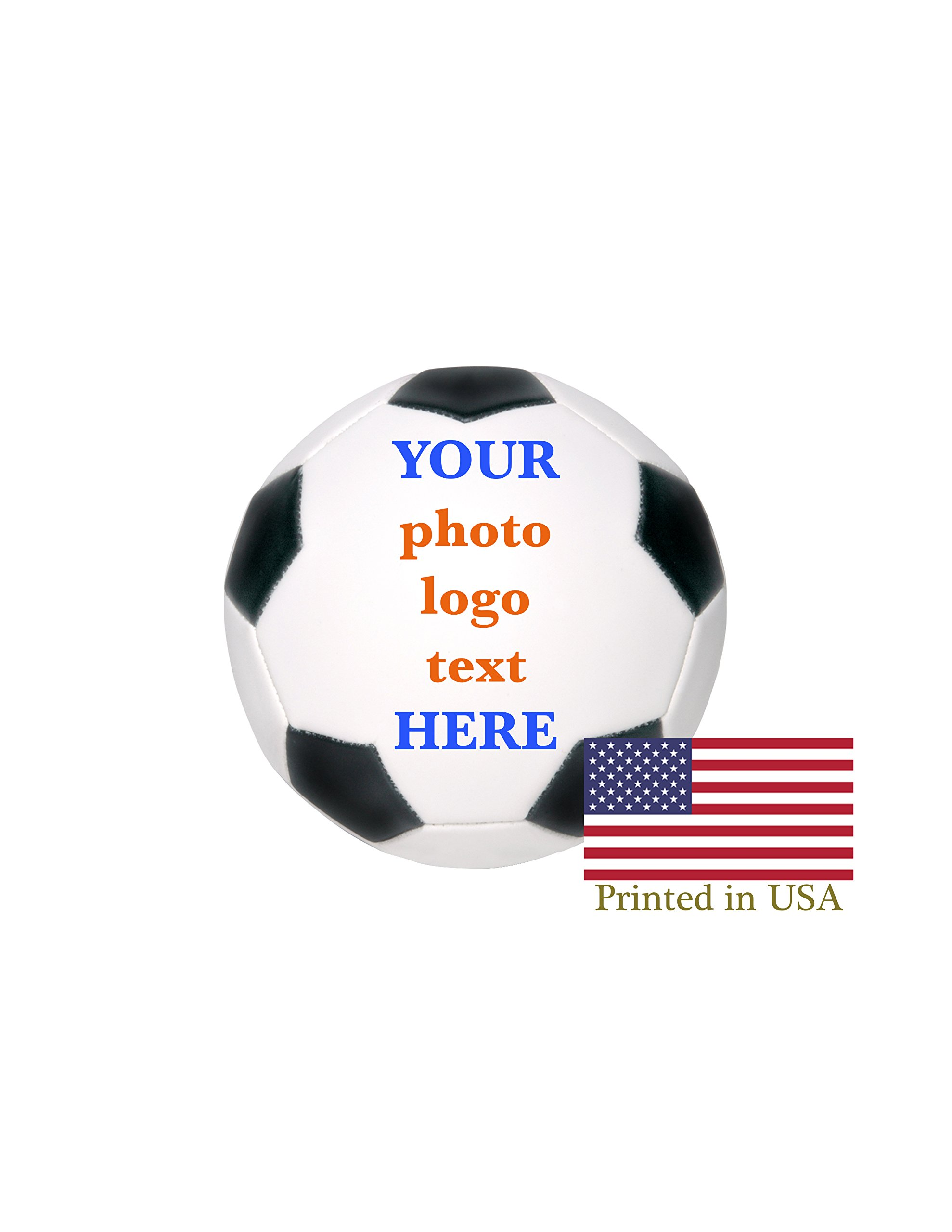 custom personalized soccer ball ships in 1 day high resolution
