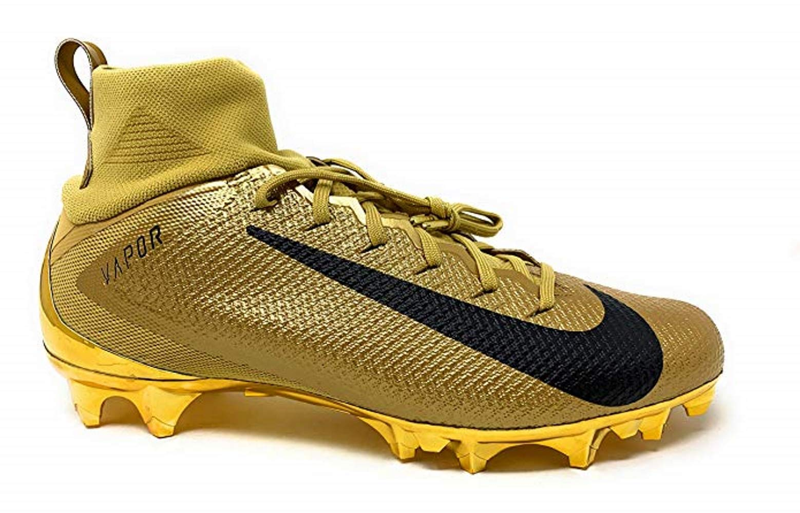 Nike Vapor Untouchable Pro 3 Mens 917165-700 (Club Gold/Metallic Gold, 8 US)