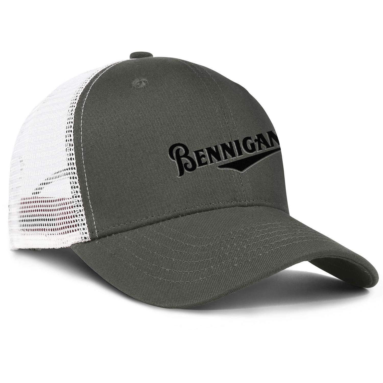 ChenBG Unisex Bennigans Black Adjustble Baseball Cap Dad Cap Cotton Cowboy Hat