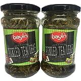 Burmese Pickled Tea | Fermented Tea | Lahpet | 2 x 200g Jars | by Bayin