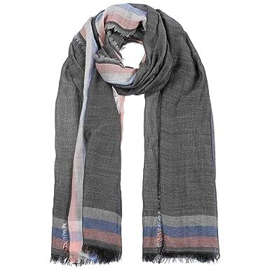 Passigatti Echarpe Herringbone Stripes echarpe en laine pour homme (taille  unique - anthracite)  Amazon.fr  Vêtements et accessoires 8812fe5bfdd
