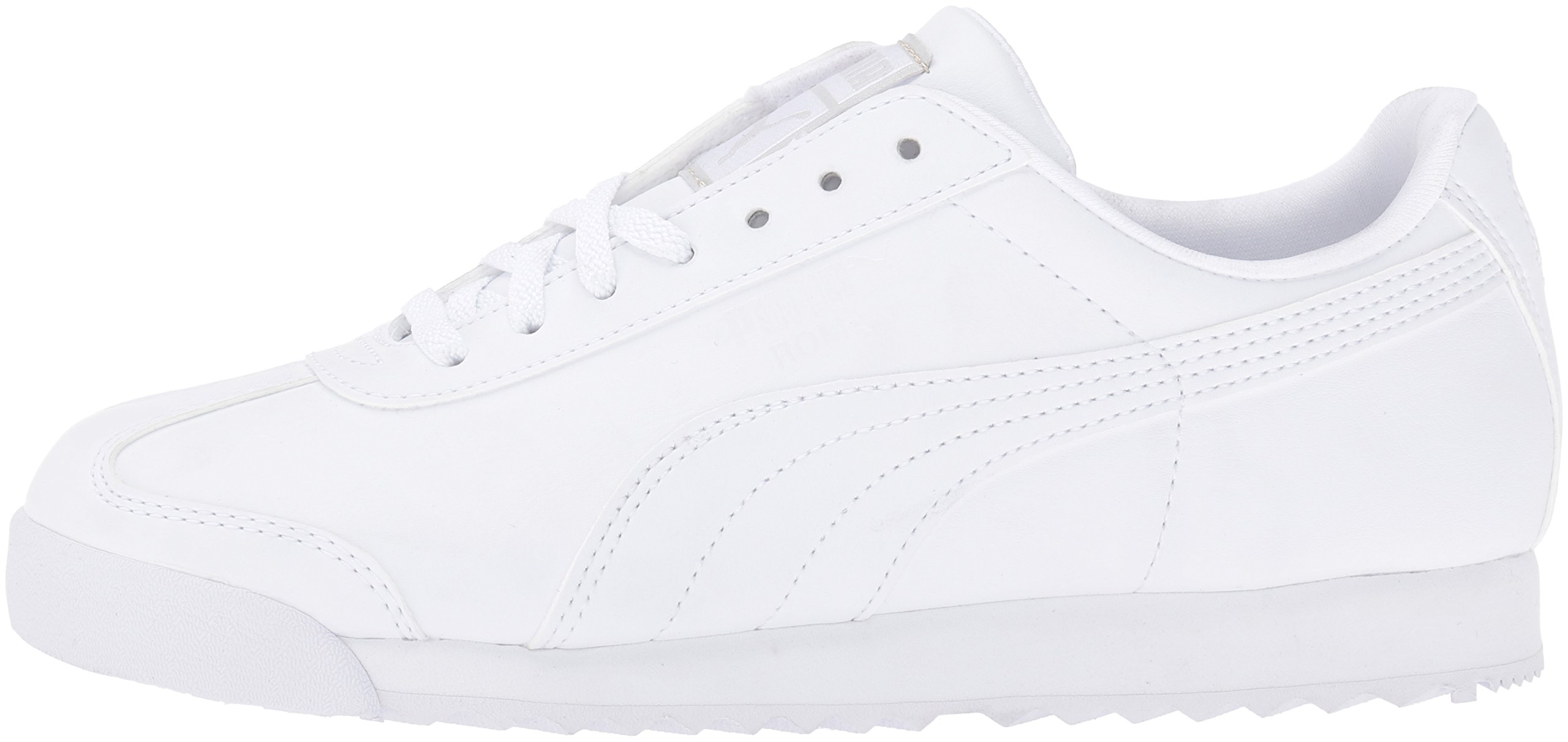 PUMA Roma Basic JR Sneaker , White/Light Gray, 3 M US Little Kid by PUMA (Image #5)