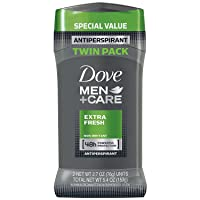 2-Pack Dove Men+Care Antiperspirant Deodorant Stick Extra Fresh 2.7 oz