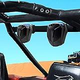 "GoHawk ATN4 All-in-One Built-in Amplifier Waterproof 5"" Full Range Bluetooth ATV RZR UTV Stereo Speakers Audio Amp System,1.5"