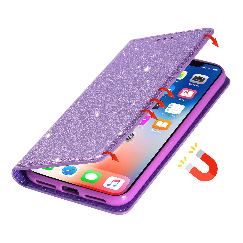 Nicht f/ür A30 Handyh/ülle Flip Case Glitzer H/ülle Leder Tasche Schutzh/ülle Handytasche ein Kartenfach Klapph/ülle f/ür Galaxy A50//A50S//A30S,Schwarz Hancda H/ülle f/ür Samsung Galaxy A50 // A50S // A30S