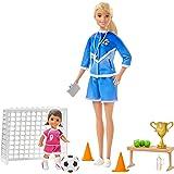 Barbie Professora de Futebol, Multicolorido, GLM47, Mattel