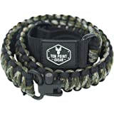 Ten Point Gear Traditional Sling 2 Points 550 Paracord   Adjustable w/Swivels and Clips   Outdoors and Hunting Use   Multiple