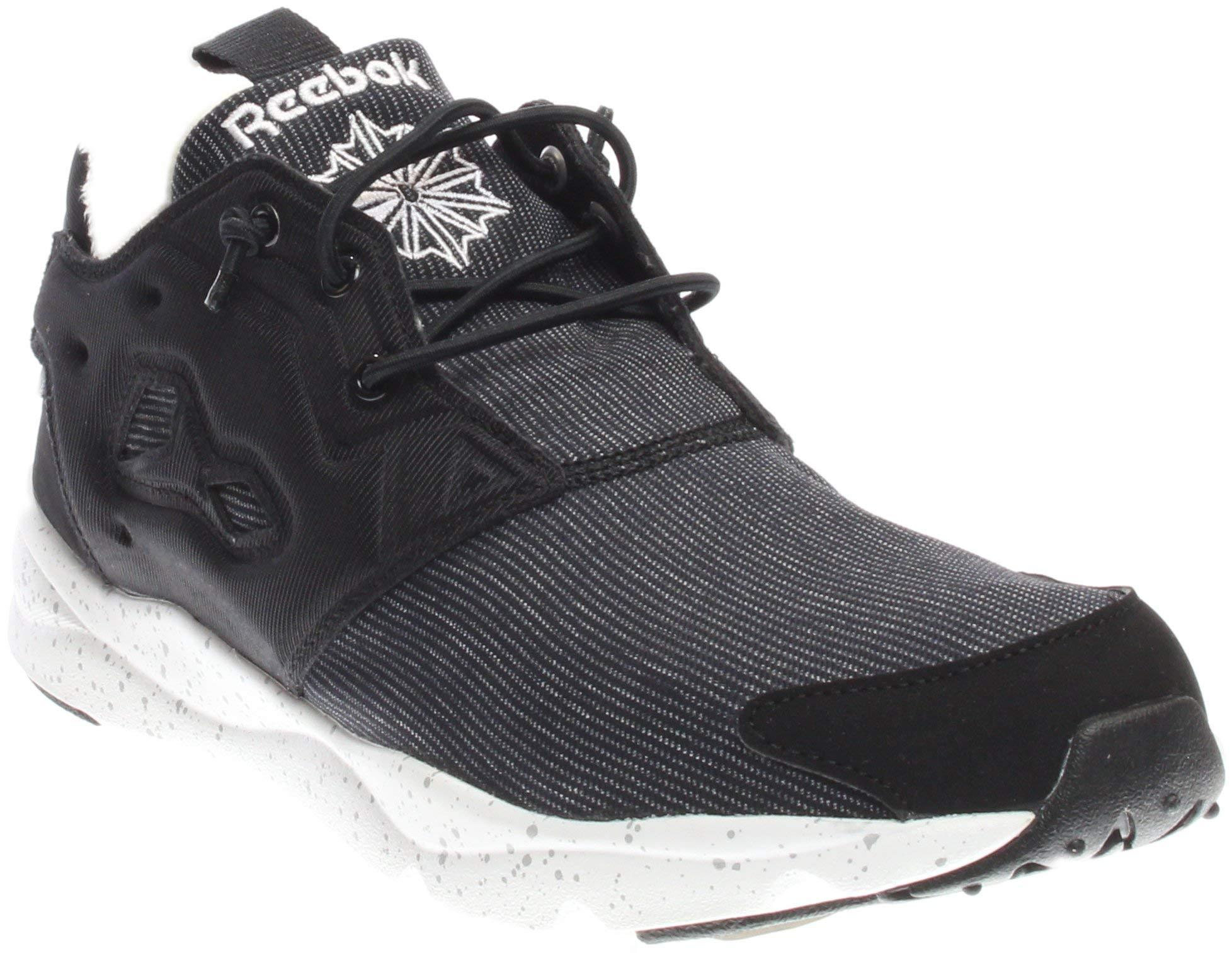 Furylite Winter Fashion Sneaker, Black