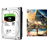 Seagate 2TB FireCuda 3.5 inch Internal SSHD Hard Drive + FREE Assassin's Creed Origins PC Download Code (Amazon UK only. Terms & Conditions apply)