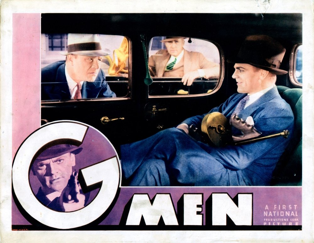 /'G/' Men 1935 James Cagney movie poster print 2