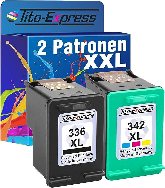 Tito Express Platinumserie Set 2x Druckerpatrone Für Hp Elektronik