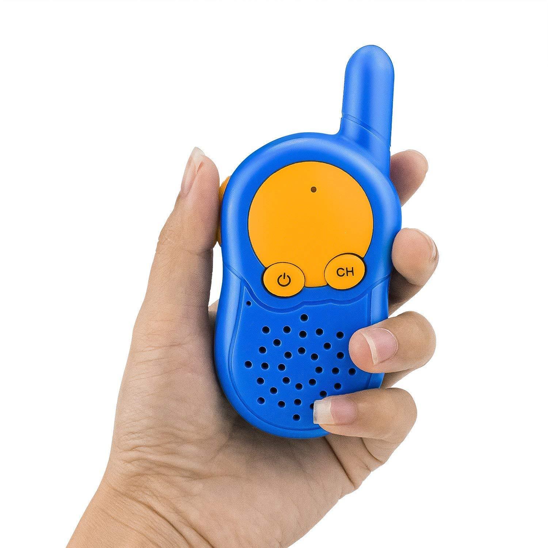 Walkie Talkies para Niños, Walki Talki, USB Recargable Walky Talky PMR Radio Juegos de mesa para Juguetes Niños 3 4 5 6 7 Años, Navidad Regalo de ...