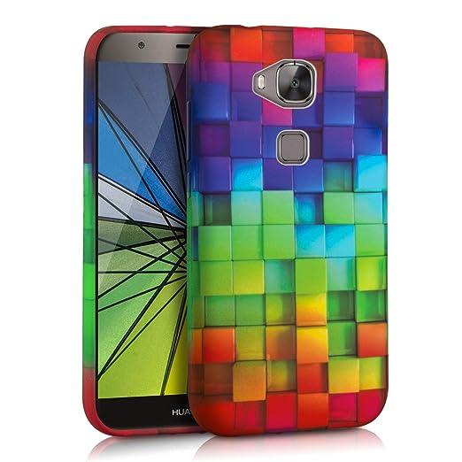 10 opinioni per kwmobile Cover per Huawei G8 / GX8- Custodia in silicone TPU- Back case