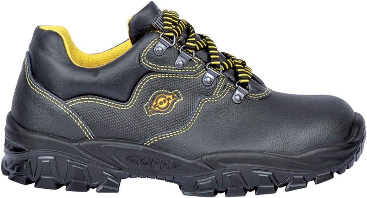 Cofra NT110-000.W42 Chaussures de s/écurit/éNew Tamigi S1 P SRC Taille 42 Noir,