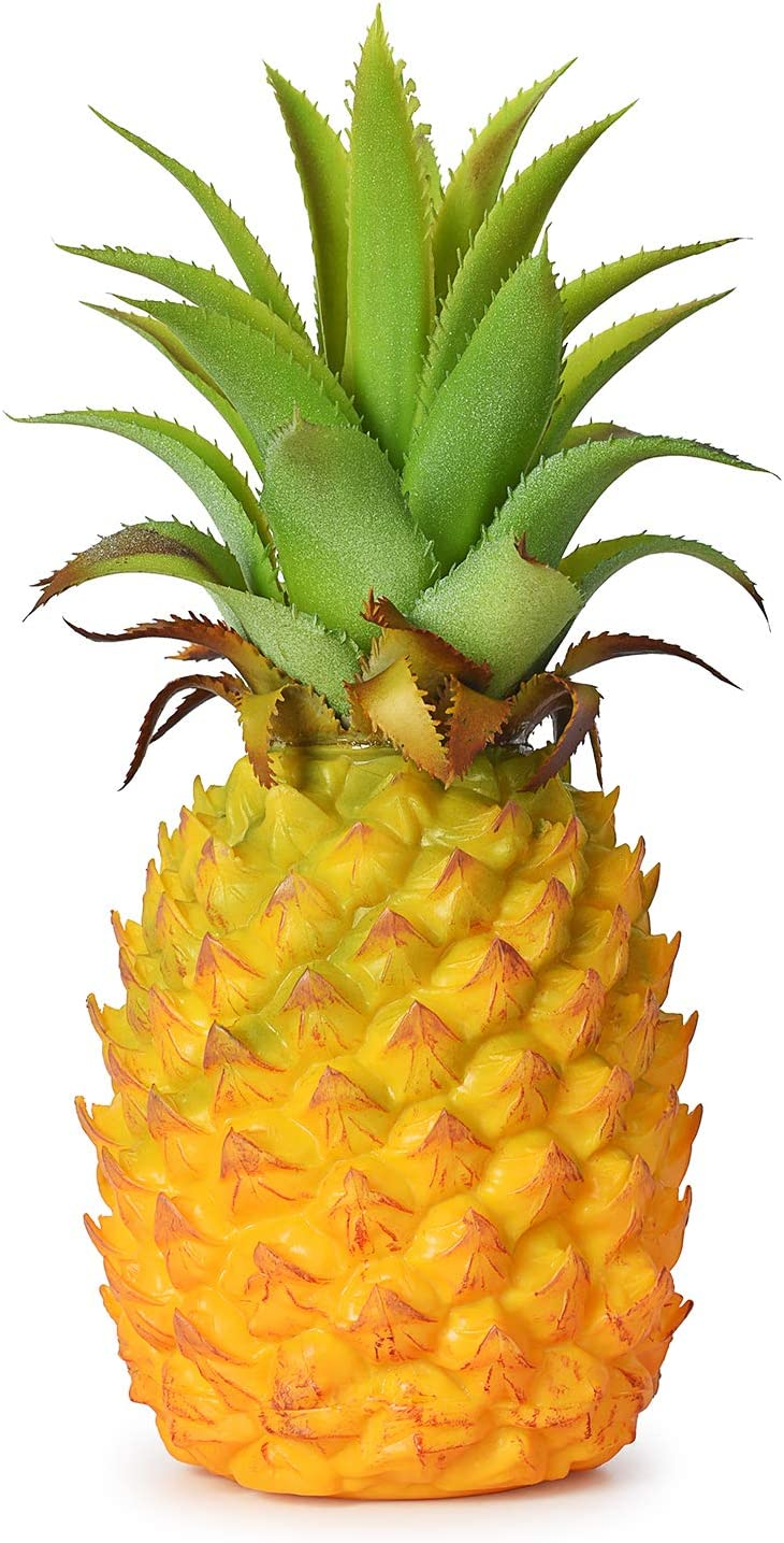 """Lvydec Artificial Pineapple, Realistic Artificial Fruit Fake Pineapple for Home Cabinet Table Party Decoration (8.2"""")"""