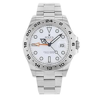 fe8a56fce36 Amazon.com: New Rolex Explorer II Stainless Steel Mens Watch 216570 ...