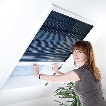 Fliegengitter Plissee Fur Dachfenster Insektenschutz