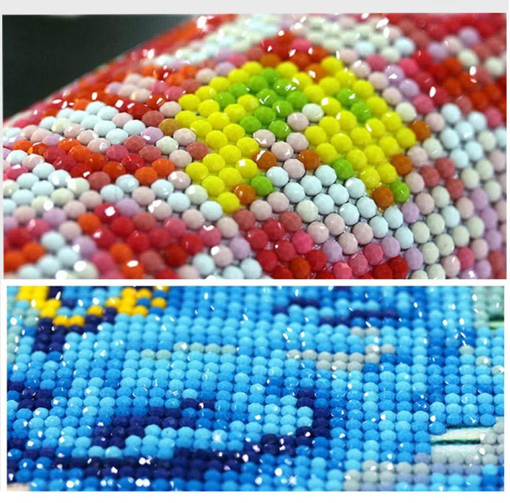 Coral Vaughan 5d Pittura Diamante Kit Punto Croce Fai da Te a Mano Completo Drill Diamond Ricamo Mosaico in Resina con Strumenti Set,Pittura Religiosa la Nostra fede-40 55 cm