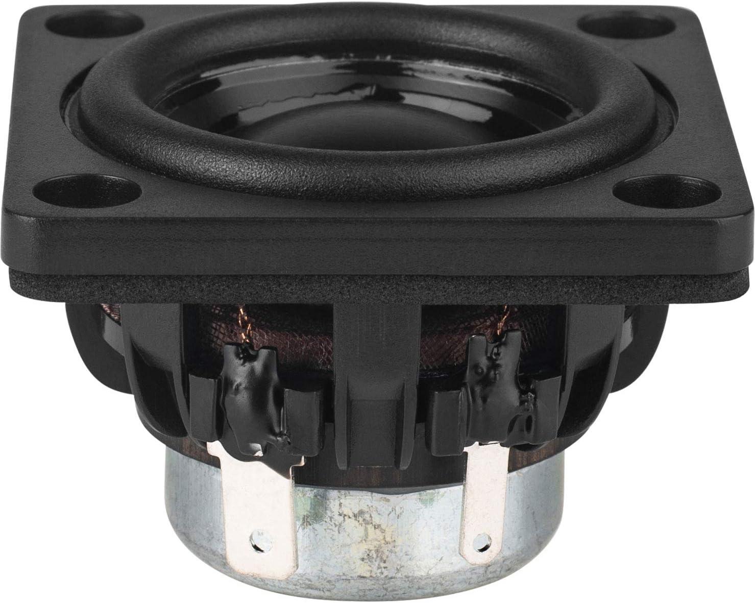 "Dayton Audio DMA45-8 1-1/2"" Dual Magnet Aluminum Cone Full-Range Driver 8 Ohm"