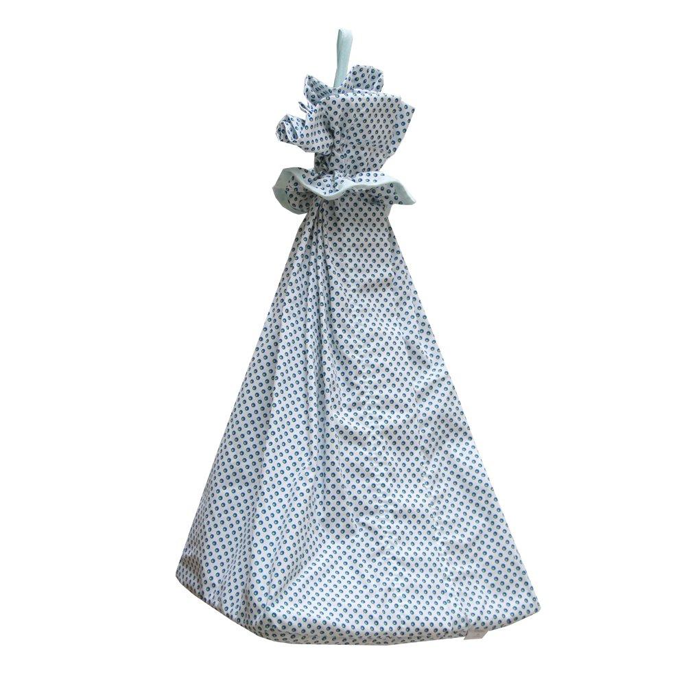 Câlin Câline Range Couches et Pyjama Nino Blanc à Pois Bleu 100.22 9017_MAR_40_MARRONMARBRE-40
