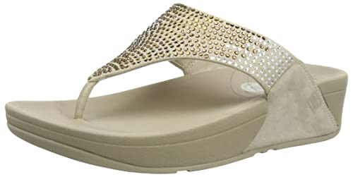 0cfd5e46c FitFlop Womens Flare Flare Taupe Size  10 US   10 AU