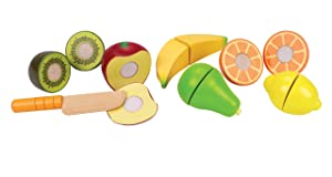Award Winning HapeFresh Fruit Wooden Kitchen Play Food Set