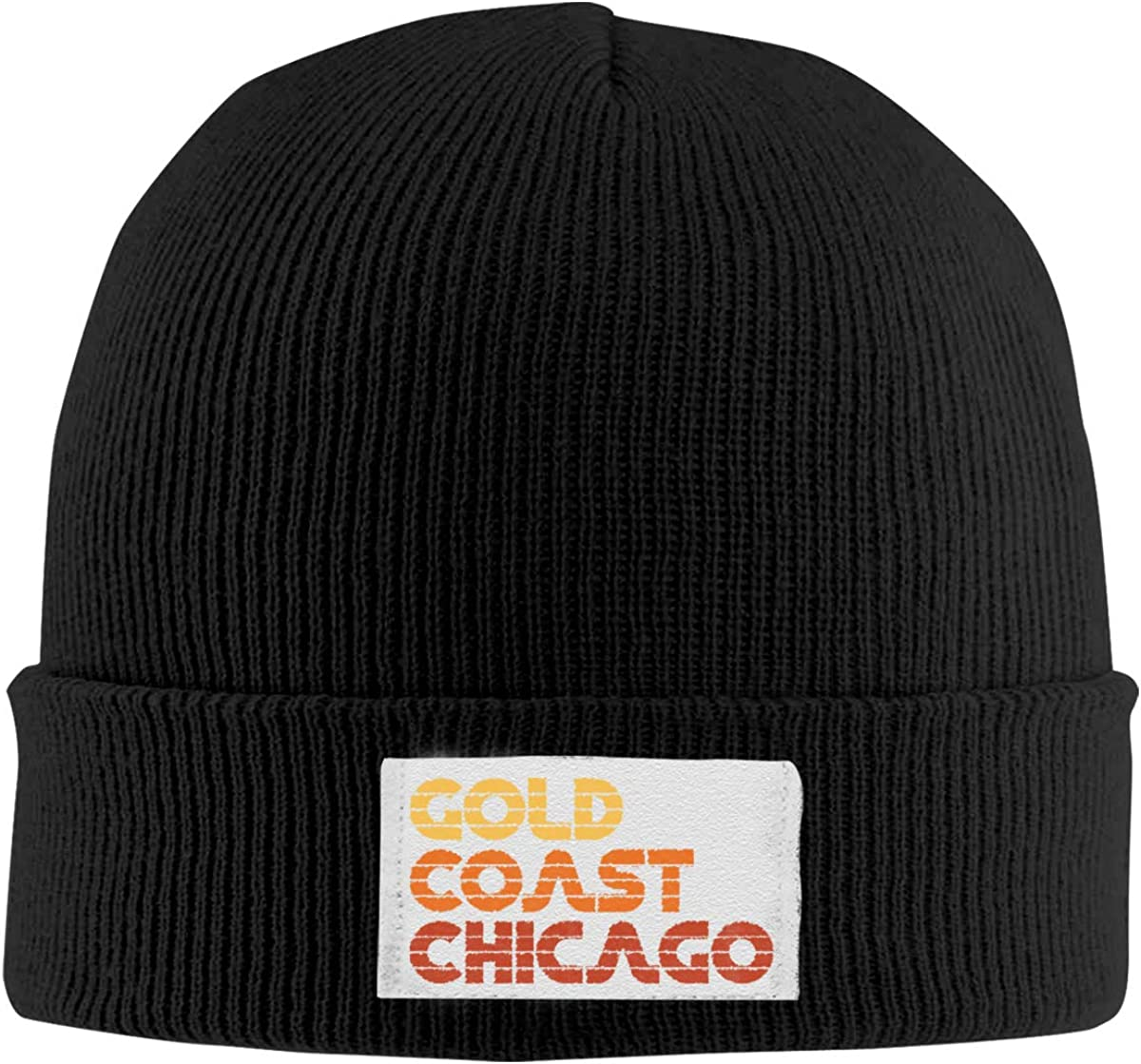 Gold Coast Chicago Knitted Hats Beanie Cap Casual Unisex Winter