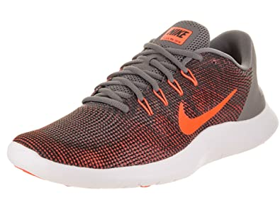 acae41ebedd3 Nike Mens Flex RN 2018 Gunsmoke Crimson Black Grey Size 7