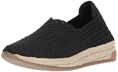 BOBS from Skechers Women's High Jump-Sporty Espadrille Platform,White,11 M US