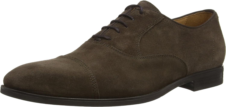 Geox U New Life E, Zapatos de Cordones Oxford para Hombre
