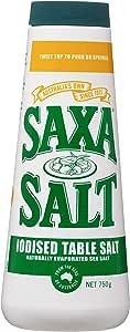 Saxa Iodised Table Salt, 750g