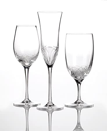 waterford crystal wine glasses set of 6 john rocha geo ballet icing essence white