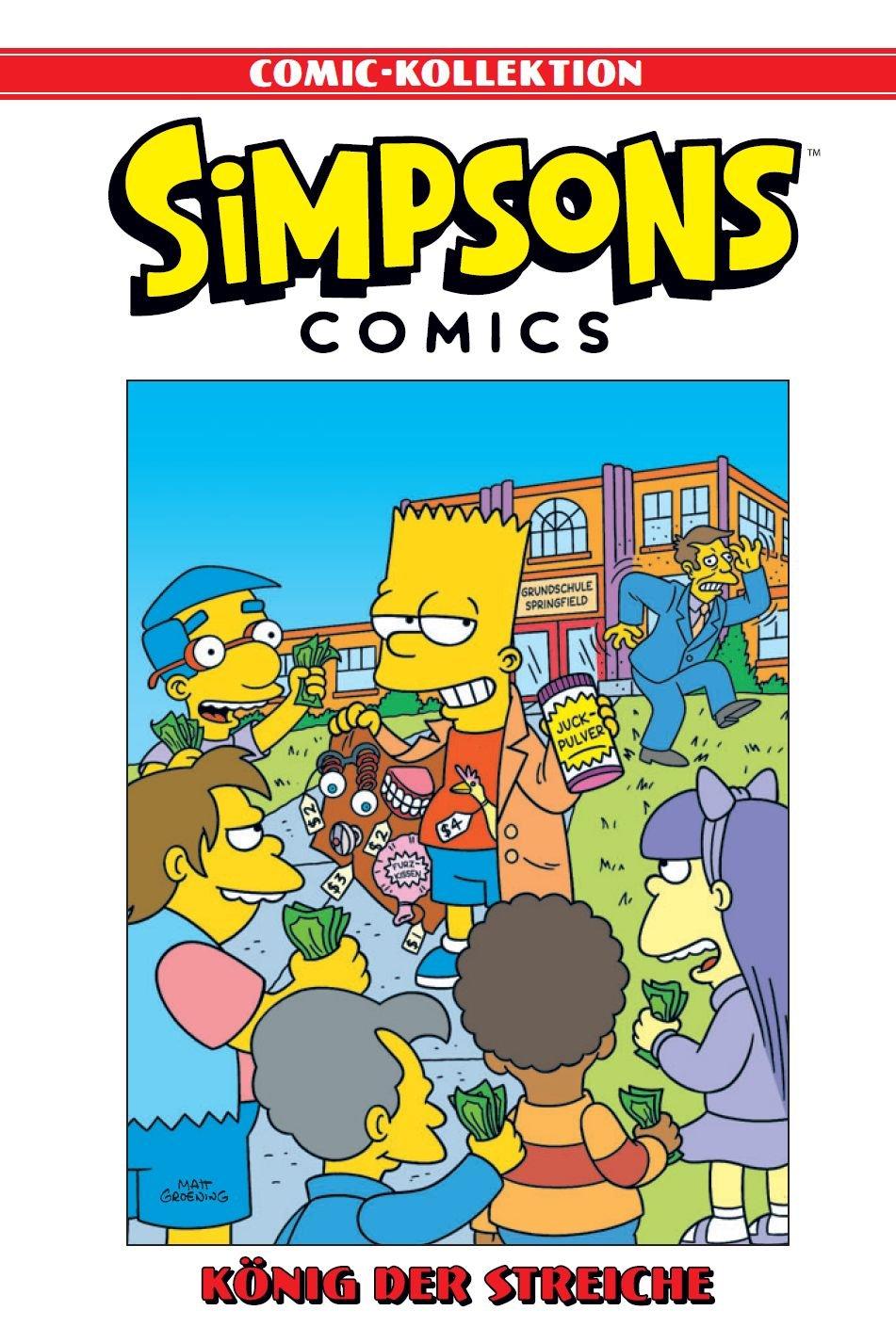 Simpsons Comic-Kollektion: Bd. 7: König der Streiche Gebundenes Buch – 25. Juni 2018 Matt Groening Gerald Andre Martin Schlömer Matthias Wieland