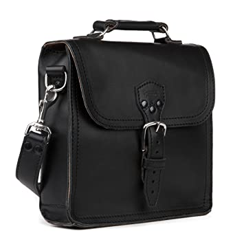 40a307d2f1ad Indiana Messenger Gear Bag Full Grain Leather Slim Satchel for Men Includes  100 Year Warranty