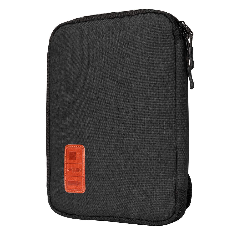 Jamber universal bolsa de viaje cable organizador electrónica accesorios bolsa de transporte caja con juego de