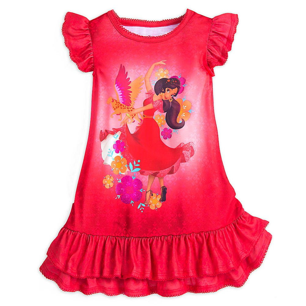 Disney Elena Nightshirt For Girls Red