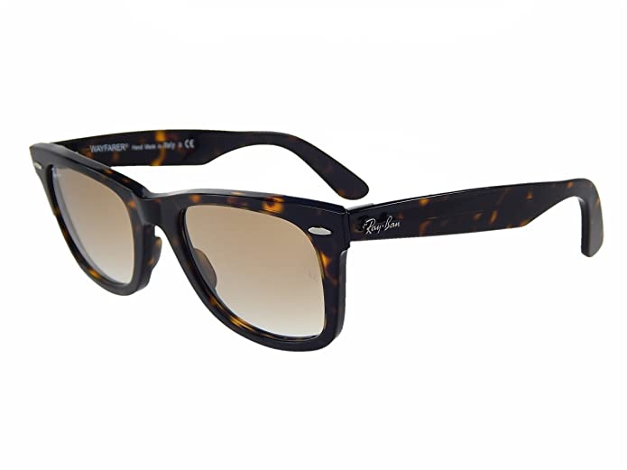 1996da2cb0 Ray Ban Wayfarer RB2140 902 51 Havana Crystal Brown Gradient 50mm Sunglasses