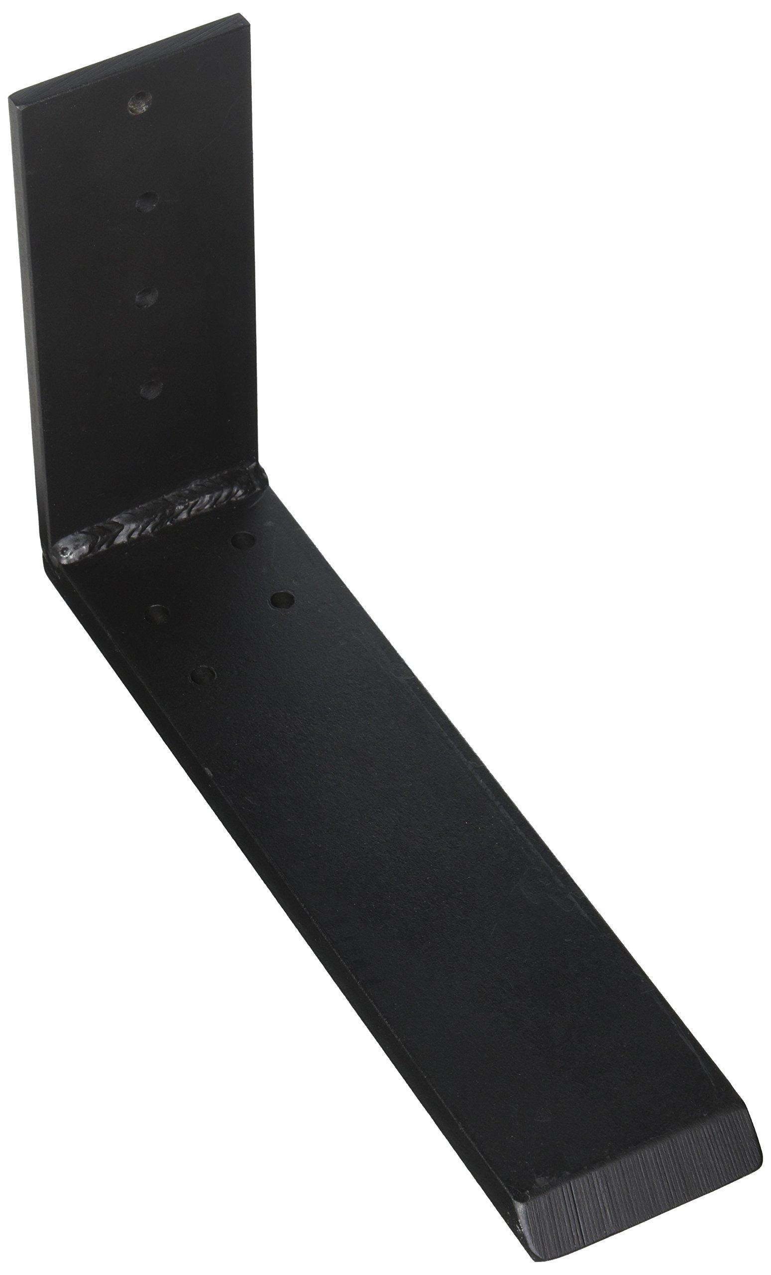 L10BL Wholesale Hidden Granite Brackets Countertop Support Bracket 10'' Steel L-Bracket